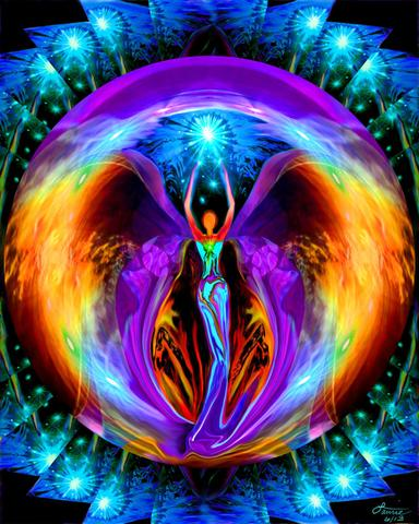 angelic reiki image for levels 1 and 2